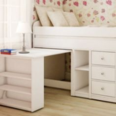 Belair Twin Captain's Bed With Desk Corner Twin Beds, Diy Twin Bed Frame, Twin Beds For Boys, Twin Captains Bed, Kid Beds, Girls Bed With Storage, Twin Bed With Drawers, Twin Storage Bed, Bed Frame With Storage