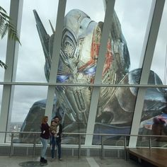 Transformers: The Last Knight - Optimus Prime Head In Sky Garden, London. - Transformers News - TFW2005