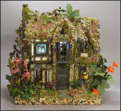 Poppy's Cottage II  Fairy Dollhouse Custom Order by MelissaChaple, $5000.00