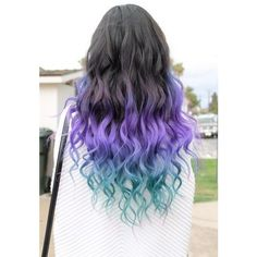 The 7 Coolest Ways To Dye Your Hair ❤ liked on Polyvore featuring hair