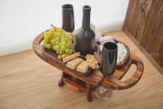 Artículos similares a Wood wine caddy, Wooden wine caddy, Wine bottle holder, Wine glass holder Wine holder Wooden wine rack Wedding gift Wood table en Etsy Wine Glass Holder, Wine Bottle Holders, Laser Cut Box, Laser Cutting, Wine Rack Storage, Wine Caddy, Wine Table, Wood Wine Racks, Woodworking Projects That Sell