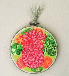 Free hand embroidery by Dawn Strait