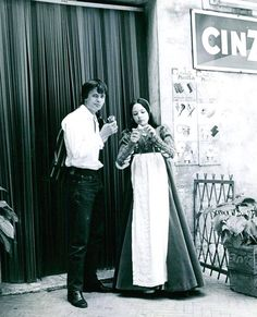 Vintage Photo of Leonard Whiting and Olivia Hussey