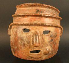 Capuli» Máscara antropomorfa