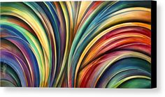 ' Curves' Canvas Print by Michael Lang.  All canvas prints are professionally printed, assembled, and shipped within 3 - 4 business days and delivered ready-to-hang on your wall. Choose from multiple print sizes, border colors, and canvas materials.