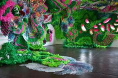 Pseudoscape---A Large-Scale Art Installation by Crystal Wagner