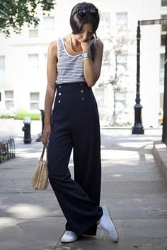 Image result for 1940s fashion women's pants
