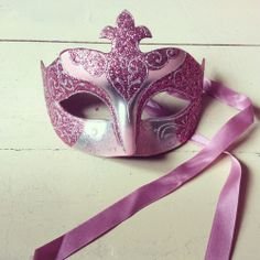 Máscara roxa super fashion!