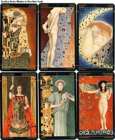 Another Golden Tarot, this is by the German artist Klimt.