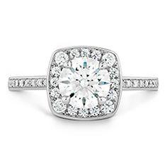 Euphoria Custom Halo Engagement Ring