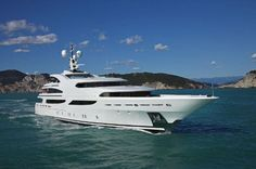 """St David"" is a stunning yacht, both inside and out. Browse: 2008 Bennetti 60 Metre Yacht in La Spezia, Italy."