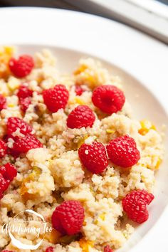 Bored of porridge, sick of toast and utterly over egg? This sweet breakfast couscous will put you back in your breakfast groove. Pasta for breakfast might sound weird but trust me, you're going to love this vegan treat.