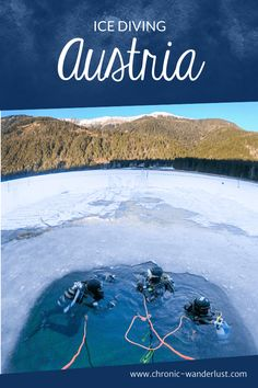 In winter, Lake Weissensee is transformed into a paradise for bold divers. Let me tell you why ice diving at Lake Weissensee is so special! Scuba Diving Gear, Cave Diving, Cozumel, Cancun, Tulum, Maui Vacation, Dream Vacations, Diving Course, Sea Photography