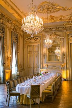 This reception hall will make you feel like you're in a French château.