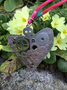 Bijoux cotton strings with oriental prints or metallic chains #heart #truelove #love #amore #cuoremeccanico #flower #style #oriental #sanvalentine