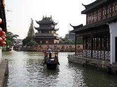 Zhujiajiao Ancient Town (江南古镇朱家角), Shanghai.