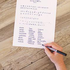 Custom Handwriting Font