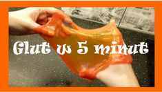 Ciągliwy glut w 5 minut - jak go zrobić? Crafts For Kids, Diy, Strawberries, Crochet, Origami, Massage, Beautiful Pictures, Child, Number