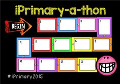 Love this iPrimary-a-thon by sarahtirtilas (basically an app-mazing race - oh so perfect for gamifying your professional development!)