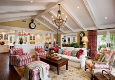 Eclectic Living Room Ideas with Country Furniture - http://www.amazinginteriordesign.com/eclectic-living-room-ideas-with-country-furniture/