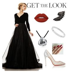 """Get the Look: Met Gala 2016"" by aceamy on Polyvore featuring Johnathan Kayne, Christian Louboutin, Bling Jewelry, Roberto Cavalli, Michael Kors, Lime Crime, GetTheLook and MetGala"