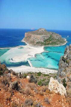 Balos Beach and Lagoon - Crete, Greece