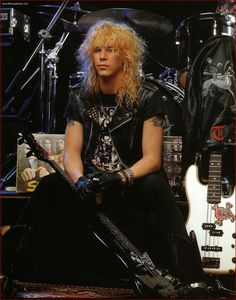 Duff Mckagan young. the good old days