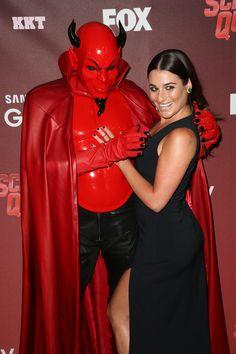 """Lea Michele at the """"Scream Queens"""" premiere"""