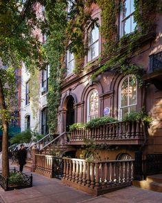 New York City Boroughs ~ Manhattan | Greenwich Village. Photo by imxplorer via Instagram.