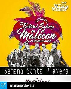 @Regrann from @managerdevzla -  A PARTIR DE HOY Festival Salsero en el Malecón Chichiriviche. IMPERDIBLE! Con la presentación de Manolito Simonet Jimmy el León Dimensión Latina entre otros... Compra tus entradas y asiste.  #music #buenamusica #salsa #caribeña #caribe #ve #felicidad #concierto #likeforlikeback #likeforlike #like4like #l4l #like4likeback #likes #likers #igersvenezuela #igers #Regrann  #Bailar #SalsaCasino #BailaSalsaCasino #SalsaCasinoVenezuela #DanceSalsa #DanceSalsaCasino