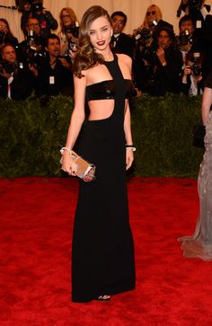 Met Gala 2013. Miranda Kerr, Dress by Michael Kors.