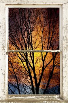 Going in to the night a sunset window view number three in this series. Bring nature indoors , now you can have a window with a view in any room with our picture window fine art striking photography nature landscape canvas wraps and prints