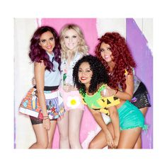 An image of Little Mix ❤ liked on Polyvore featuring little mix, people and & pictures