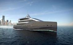 Rolls-Royce Crystal Blue Luxury Yacht: High Performance Yacht with Hybrid Propulsion