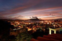 Mindelo at night, Sao Vicente, Cape Verde - Kaapverdie