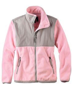 NWT Ladies Weatherproof  Women's Microfleece Pink Jacket - Size L #Weatherproof #MicrofleeceJacket