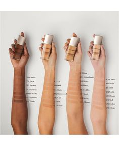 A luminous liquid foundation with 15 hours of hydration and weightless medium to full coverage.