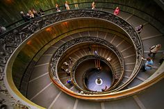 Double-spiral staircase - VaticanMuseum | by © Frédéric L