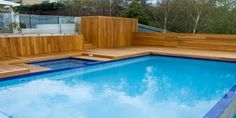 above ground pool deck designs with steps : Swimming Pool Deck Designs. design a pool deck,pool deck design ideas,swimming pool deck,swimming pool deck ideas,wooden pool decks Wooden Pool Deck, Wooden Decks, Above Ground Pool Decks, In Ground Pools, Deck Design, House Design, Modern Design Pictures, Cheap Pool, Swimming Pool Decks