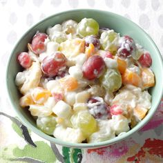 Need fruit salad recipes? Get fruit salad recipes for a great addition to your meal or gathering. Taste of Home has lots of delicious fruit salad recipes including fresh fruit salads, summer fruit salads, and more fruit salad recipes. Easter Fruit Salad Recipe, Fruit Salad Recipes, Easter Recipes, Easter Food, Fruit Salads, Jello Salads, Fruit Dishes, Holiday Recipes, Taste Of Home