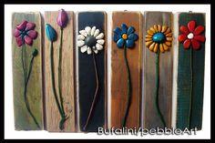 Pebble art - Michela Bufalini, FIORI @GIGARTE.com