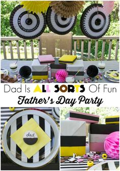 Dad Is All Sorts Of Fun Father's Day Party