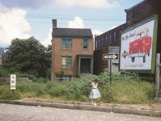 Edith Shelton took this photo at 533 Brook Road in Jackson Ward, now the site of Abner Clay Park, in August 1955 (photo courtesy The Valentine). The Valentine Museum will showcase the most colorful examples of her work in the new exhibition Edith Shelton's Richmond, from Dec. 4 through May 8, 2016.