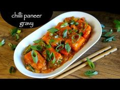 chilli paneer gravy recipe, paneer chilli gravy with step by step photo/video. indo chinese street food of india served mainly as side dish for fried rice. Paneer Gravy Recipe, Chaat Recipe, Chilli Paneer Recipe Video, Paneer Chilli Dry, Indian Veg Recipes, Chilli Recipes, Indo Chinese Recipes, Chicken Recipes, Paratha Recipes