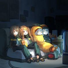 소녀전선 만화 - 404 소대 온천 가는 만화 ① ~ ②.manhwa : 네이버 블로그