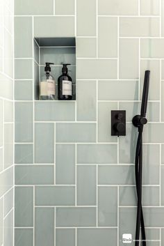 As soon as you have chosen that you want to acquire a brand-new bathroom shower stall, as well as how big of one you can acquire, you will need to start buying your shower. Serene Bathroom, Modern Bathroom, Master Bathroom, Bathroom Ideas, Italian Bathroom, Bathroom Green, Shared Bathroom, Neutral Bathroom, Bathroom Showers