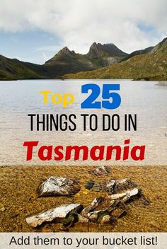 Dreaming of Tasmania? Here's the top 25 things to do in Tasmania - add them to your bucket list! Tasmania Road Trip, Tasmania Travel, Travel With Kids, Family Travel, Perth, Ladybug And Cat Noir, Things To Do, Stuff To Do, New Zealand Travel