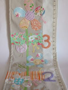 Roxy Creations: Growth chart Melody and Flora