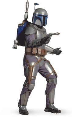 "#MidweekPedia JANGO FETT / Bounty Hunter DESCRIPTION: was a renowned Mandalorian bounty hunter, assassin, mercenary, and the ""father"" of Boba Fett, a genetic clone of his, whom he raised as a son. A Human from Concord Dawn, Fett was adopted by Mandalorian warriors following the murder of his parents and the disappearance of his older sister Arla in 58 BBY. Years later, he would go on to lead them through much of the Mandalorian Civil War as Mandalore."