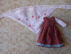 robe et fichu pour doll blythe/icy doll/pure neemo de la boutique Mauricedanslatelier sur Etsy